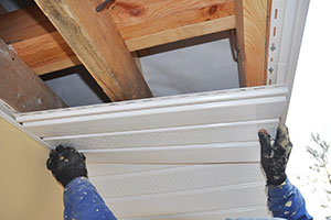 repairing-white-soffit-for-house